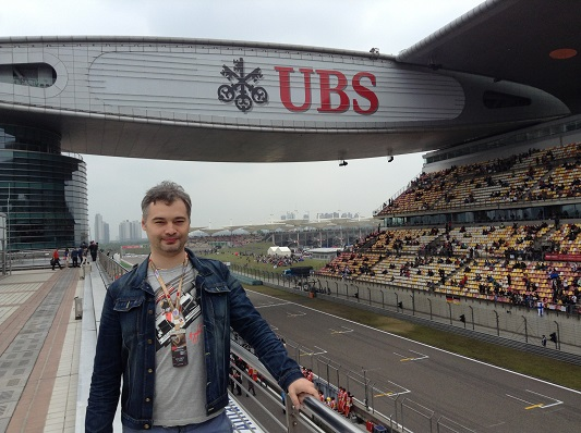 China GP 2014 Paddock club