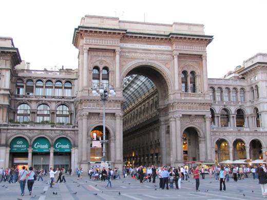 Галерея Виктора Эммануила II (Galleria Vittorio Emanuele II)