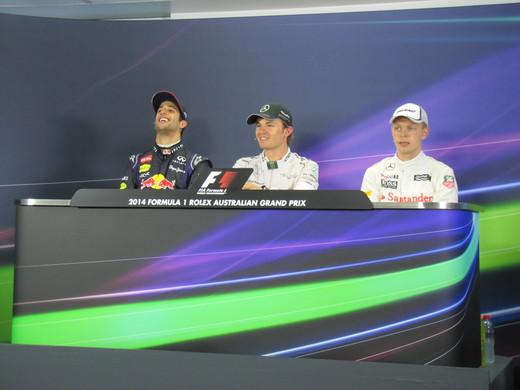 Гран-при Австралии 2014. Первый подиум сезона