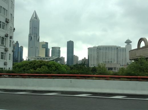 Шанхай. Едем на автодром